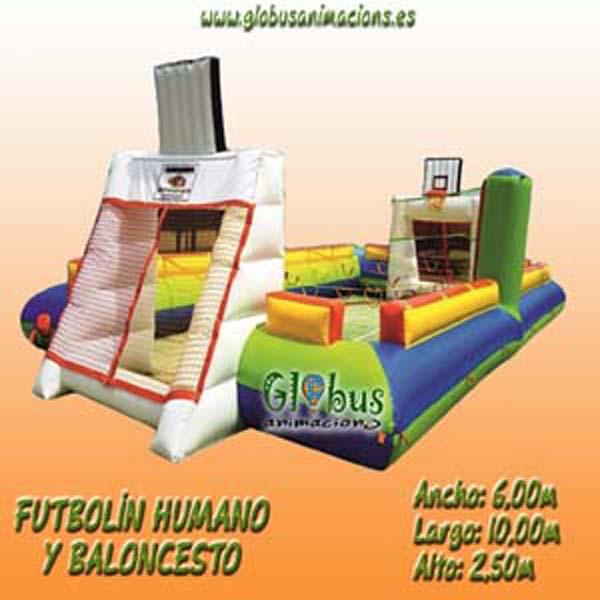Castillos Hinchables Deportivos - Fiestas cumpleaños Valencia