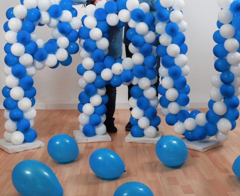 decoración de primera comunión en Valencia - globos